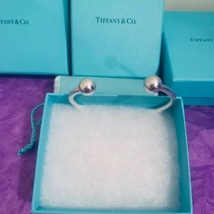Authentic Tiffany & co ball cuff